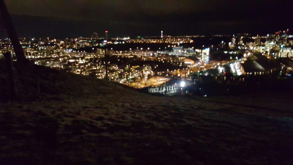 Kvällsmagi i Hammarbybacken